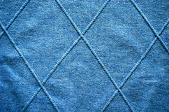 Cross lines on knitted sweater pattern background Stock Photo