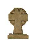 cross marker stone Στοκ εικόνα με δικαίωμα ελεύθερης χρήσης