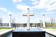 Cross Memorial Royalty Free Stock Images