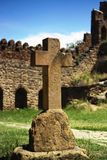 Cross in monastery Royalty Free Stock Image
