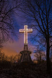 Cross on Mont-Royal Royalty Free Stock Photo