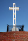 Cross on Mt. Soledad Stock Photo