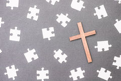 Cross mysteries Stock Photography