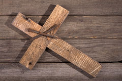 Cross and Nails Royalty Free Stock Image