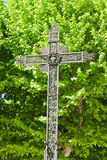 Cross in nature Stock Photography