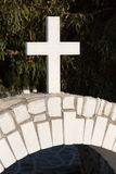 Cross Naxos Church Royalty Free Stock Images