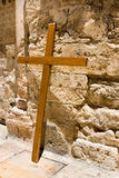 Cross near the Church of the Holy Sepulcher Royalty Free Stock Photos