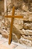 Cross near the Church of the Holy Sepulcher Royalty Free Stock Photos