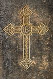 Cross from old book stock images