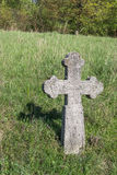 Cross on old cemetery Royalty Free Stock Images