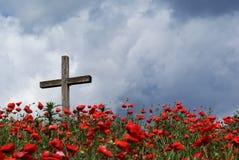 Free Cross On Poppy Knoll Stock Photography - 20640112