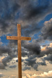 Cross Over Clouds royalty free stock images
