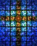 cross oznaczane szkła Obraz Stock