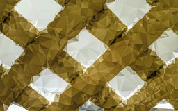 Cross pattern low poly wallpaper Royalty Free Stock Photography