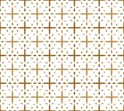 Cross pattern Royalty Free Stock Photography