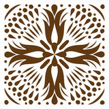 Cross patterned. Tile Royalty Free Stock Photography