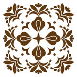 Cross patterned. Tile Stock Images
