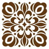 Cross patterned. Tile Royalty Free Stock Photo