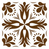 Cross patterned. Tile Stock Image