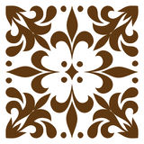 Cross patterned. Tile Stock Photography