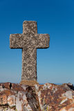 Cross in the Peña de Francia Royalty Free Stock Photos