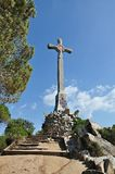 Cross of Pedracastell-Canet de Mar Stock Images