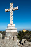 The cross at the Pena National Palace, Royalty Free Stock Images