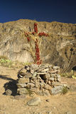 Cross in Peru Stock Image