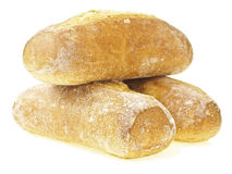 Cross pile baguette bread Royalty Free Stock Photo