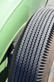 Cross ply tire tread. Royalty Free Stock Images
