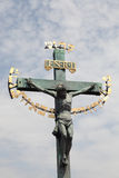 Cross in Prague Royalty Free Stock Images
