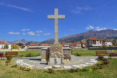 Prilep, Macedonia German cemetery – ww1 stock photo