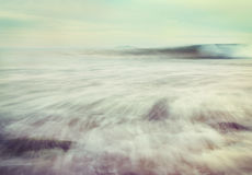 Cross-Processed Wave Royalty Free Stock Images