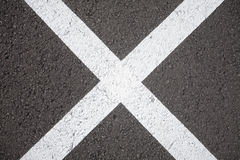 Cross roads Stock Images