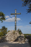 Cross in Rocamadour Royalty Free Stock Image
