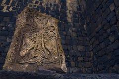 Cross s stone Royalty Free Stock Image