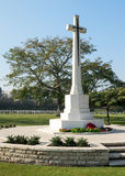 The Cross of Sacrifice memorial, Heliopolis Commonwealth War Cemetery Royalty Free Stock Images