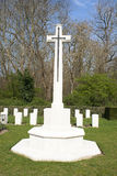 Cross of Sacrifice world war 1 cemetery Stock Image
