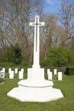 Cross of Sacrifice world war 1 cemetery Stock Image