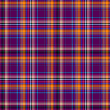 Cross seamless dark tartan pattern Stock Photo