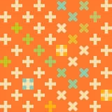 Cross seamless pattern Royalty Free Stock Photography