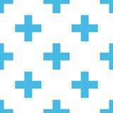 Cross seamless pattern Stock Photo