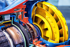 Cross section automatic gear Royalty Free Stock Photo