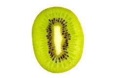 Cross section of fresh kiwi fruit Royalty Free Stock Photo