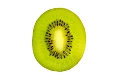 Cross section of fresh kiwi fruit Stock Images
