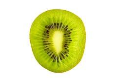 Cross section of fresh kiwi fruit Royalty Free Stock Photos