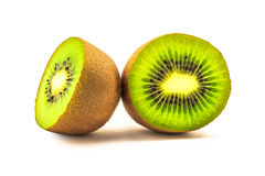 Cross section of Kiwi Fruit Royalty Free Stock Photos