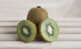 Cross section kiwi fruit Royalty Free Stock Photography