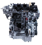 Cross section of a modern car engine Royalty Free Stock Photography