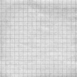 Cross-section paper. Blank sheet of a paper with a grey grid Stock Images
